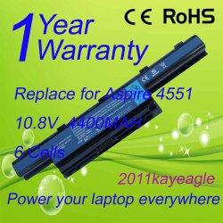 Замена аккумуляторной батареи для портативных компьютеров Acer стремимся серии 4551