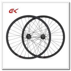 27.5er 25.5mm Width 35mm Depth Hookless Bead MTB Carbon Wheels