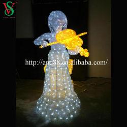 Luz de Natal Anjo para Decoração de Natal