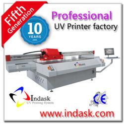 Уф-Принтер большого формата Indask продажи используется УФ-принтер светодиодный индикатор УФ-принтер
