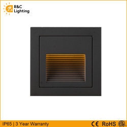 IP65 impermeabilizzano i bassi indicatori luminosi esterni esterni messi concreti della scala di punto del sensore di movimento della piattaforma di paesaggio del giardino di tensione 12V LED