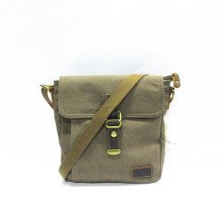 Hot vendre de l'épaule Sac cadeau d'élingue chariot bagages sacs à main de qualité supérieure La Toile et cuir véritable 2019 pour l'homme W608-5