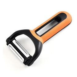 Descascador multiuso, Portable 4-em-1 descascador de legumes + Garrafa de frutos do abridor cortador com pedal Cozinha Antiderrapagem Ferramenta Gadget12142 ESG