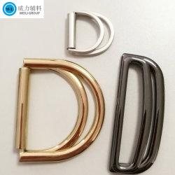 Fabricant de gros matériel personnalisé de mode boucle en métal, paire Boucles de ceinture garnitures métalliques dans divers styles et couleurs Boucle pour accessoires du vêtement