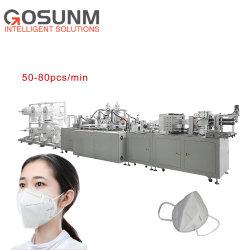 N95 ultra-Máquina de máscara de máquina de soldar KN95 Mask máquina de produção totalmente automático