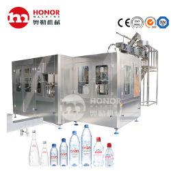 Автоматический поворотный 2000bph 4000bph 6000bph 8000bph стеклянных бутылок из ПЭТ сок газированных напитков соды пить чистую воду выдувание заполнение маркировки упаковки машины