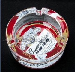 Asbakje van het Glas van het Kristal van de Gift van het bier het Promotie