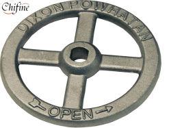 Desloque a válvula de ferro fundido por fundição em areia