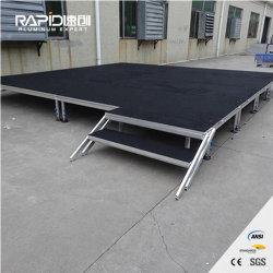 Aluminium Decoratie draagbaar Platform Event Folding Wedding Moving Mobile Stage