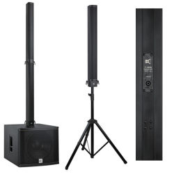 Cvr Audio Pro Line Array Alabastro Colunas