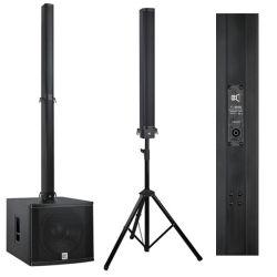Капп Audio PRO линейный массив столбцов специалисты Alabaster