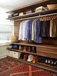 Maison en bois massif de la mode moderne Frniture vestiaire