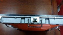 P4 pleine couleur boîtier en aluminium moulé sous pression pour la location
