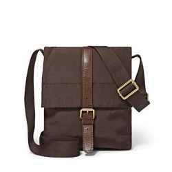 Design de marca Barato preço Nylon com saco de ombro único de couro