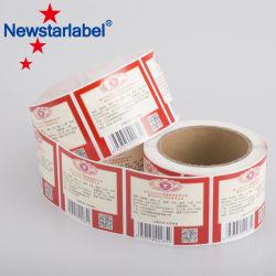 Documento dell'etichetta adesiva di prezzi di fabbrica