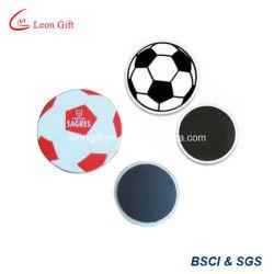 Forme de football de 3D personnalisé de l'aimant de PVC
