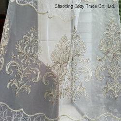 Modo Design Golden Rope Embroidery Style su Voile