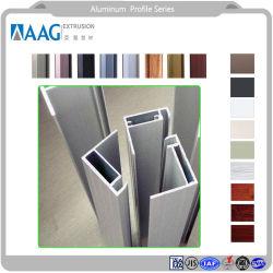 Bauvorhaben-Fenster-Tür und Zwischenwand-Aluminium-Profil