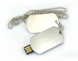 محرك أقراص USB محمول معدني، مع عقد (USB-088)