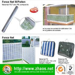 Полиэстер чистая ткань Net ограждения Net защиты для сада