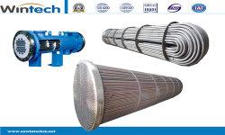 Carboneto de silício Industrial do tubo de gases de Óleo Alto Água Pressur Shell Prato trocador de calor
