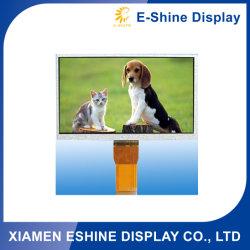 7 인치 해결책 800X480 높은 광도 TFT는 LCD 위원회 스크린 공간 엔지니어 전시 전기 용량 접촉 위원회를 가진 주문 데이터 심상 LCD 모듈을 주문을 받아서 만들었다