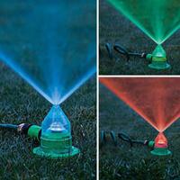 Los rociadores de LED para jardín Decoración
