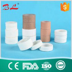 Tissu soie Ahdesive chirurgical étanche de plâtre, ruban de soie médical