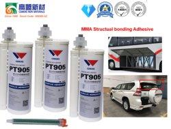 Venda a quente resistente a intempéries Two-Part Metal-Bonding Metacrilato de silicone para materiais compósitos