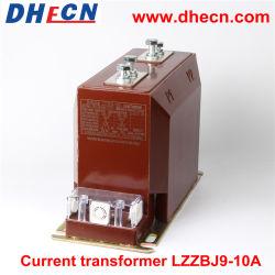Lzzbj9-10 A 10kv epoxi Cast-Resin interiores Transformador de corriente eléctrica con la clase de precisión 0.5/10p10