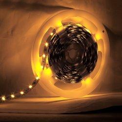 16.4FT (5M) Barrette lumineuse Flexible LED 60 unités SMD 2835 LED, 12/24 V DC étanche IP65, maison de vacances de Noël cuisine partie décoration intérieure de la barre de voiture