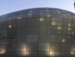 De buiten Plaat van het Netwerk van het Metaal van de Decoratie van de Muur Roestvrij staal Geperforeerde in de Prijs van de Fabriek