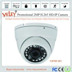 Objectiva fixa de branco para uma visão nocturna de Poe Dome CCTV Câmara IP