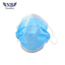 3 Falte-produktive medizinische im Gesichtschablonen-chirurgische Wegwerfgesichtsmaske