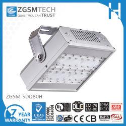80W modulares konzipiertes LED Tunnel-Licht mit 7 Jahren Garantie-