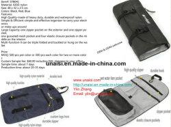 420d Saco de nylon para produtos de toalete exclusivos, espelho de cosmética acessórios de corte