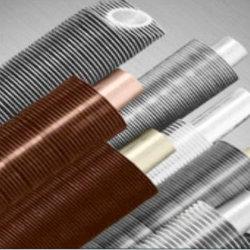 Parties du tube de la chaudière ronds/carrés Tube en acier inoxydable à ailettes/cuivre/l'acier au carbone