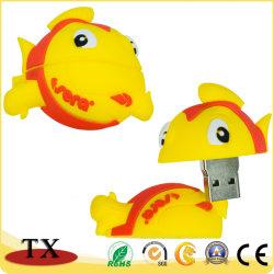 소프트 PVC 피시 USB 플래시 드라이브 USB 스틱형 선물
