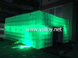 Inflatable maison hantée avec LED