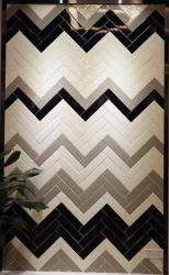 Blanc 3x12inch/7.5X30cm utilisée salle de bain Salle de bains en mosaïque Mosaïque Mosaïque