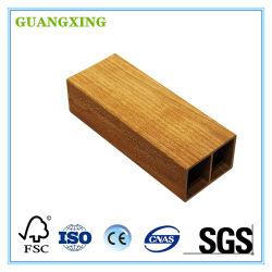 PVC Material compósito tubos de madeira como decoração de Partição Wall