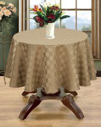 Différentes Textures et les draps de coton imperméable dîner personnalisé Chiffon de table