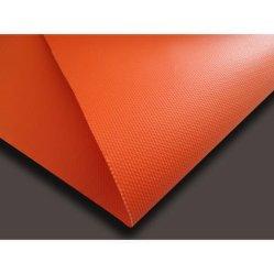 自己Extinguishableガラス繊維ファブリックPVC上塗を施してあるガラス繊維の布