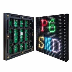 Visor LED da placa da unidade de P6 Piscina Full-Color Surface-Mount Módulo LED 192*192 mm