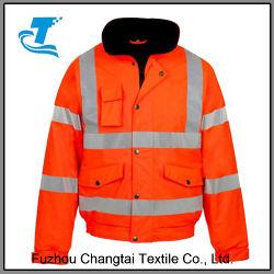 Veste étanche Hi Viz tempête Workwear Manteau de sécurité