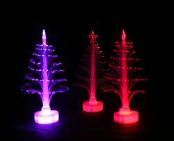 LED de fibra óptica Árvore de Natal