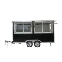 콘테이너 간이 식품 간이 건축물 옥외 포도 수확 음식은 이동할 수 있는 트레일러 판매 가나를 위한 작은 Citroen Hy phan_may 음식 트럭을 짐마차로 나른다