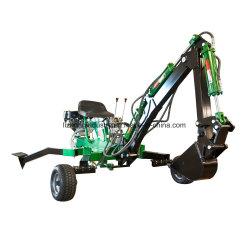 販売のための9HP ATVのTowableバックホウ、小型Towableバックホウ、Ptoのバックホウ