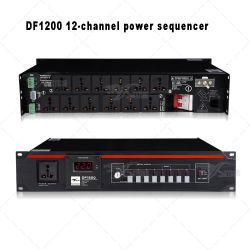 Skytone 12 canales de audio Secuenciador de potencia para la etapa el equipo de audio
