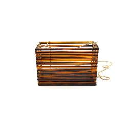 カメのシェルカラーアクリルのタケ袋の卸売の市場